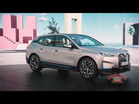 BMW Unveils iX All Electric SAV