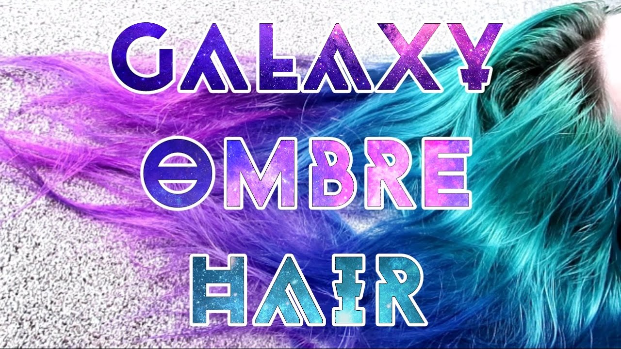 Blue Purple Pink Ombre Hair Youtube