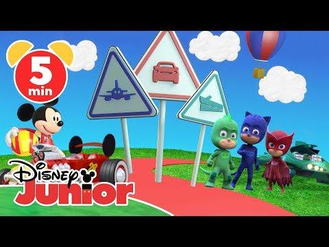 Das Große Fahrzeug-Quiz – Micky Und Die Flinken Flitzer   Disney Junior