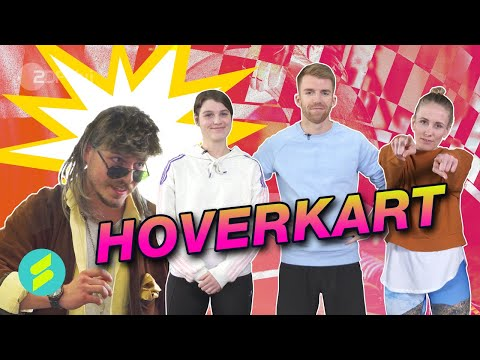 Die Sportmacher Challenge #27 – Hoverkart   ZDFtivi