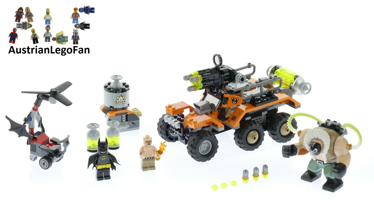 Lego The Batman movie 70914 L/'attaque du camion toxique de Bane™