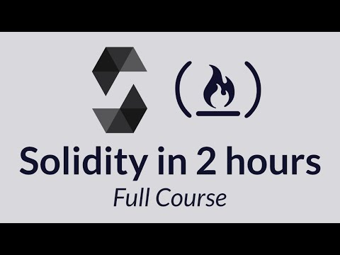 Solidity Tutorial - A Full Course on Ethereum, Blockchain De