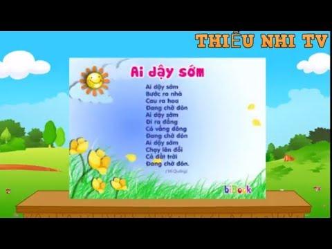 Bài thơ Ai Dạy Sớm - Bai tho ai day som - Thiếu nhi vui nhộn