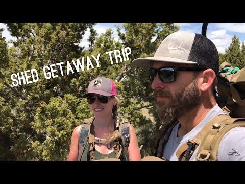 """Shedcation  Part# 1 Elk Shed Hunting """"INQUEST 2018"""" Antler Trader"""