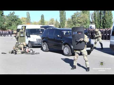 ГУ Національної поліції в Харківській області: КОРД продемонстрував молодим поліцейським професійни навички