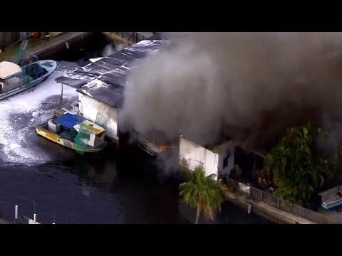News In 90: Boat Fires At Florida Marina