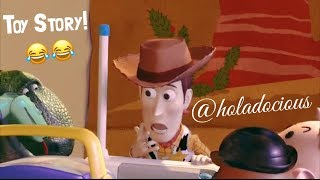 Toy Story Holadocious Voiceover: Opening Andy's Gifts!