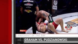 Knockout of the Day: Peter Graham stops Mariusz Pudzianowski at KSW 32