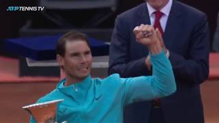 Best Rafael Nadal Shots And Winning Moment | Rome 2019