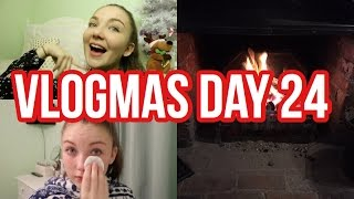 VLOGMAS DAY 24// XMAS EVE+ THE END OF VLOGMAS| Floral Sophia Vlogs