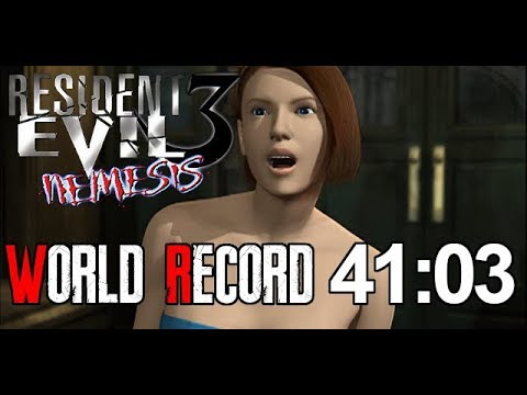 Resident Evil 3 Any% Speedrun World Record 41:03