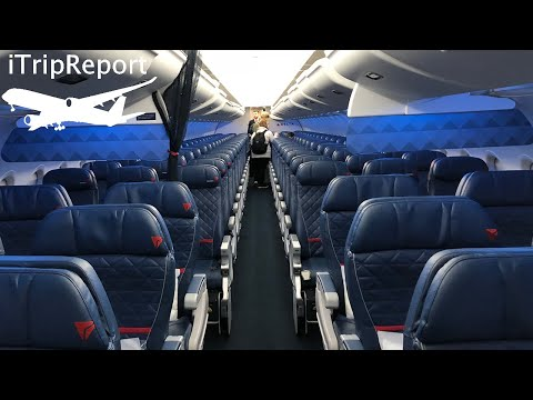Delta Air Lines A319 First Class Review