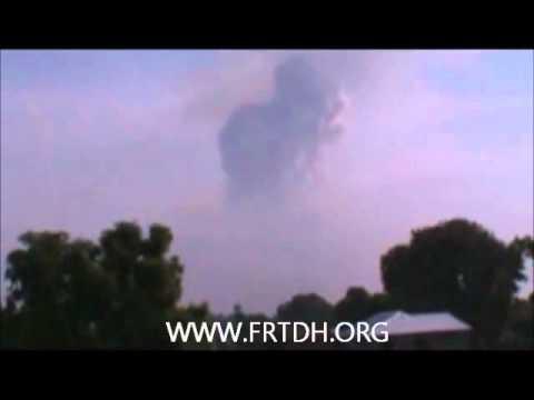 Explosions à Brazzaville (Congo) d'un dépôt de munitions le 4 mars 2012