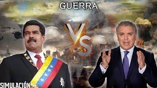 COLOMBIA VS VENEZUELA GUERRA [simulación]