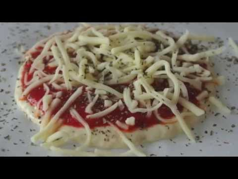 Foodini Pizza Demo - how to make a pizza using a 3D printer