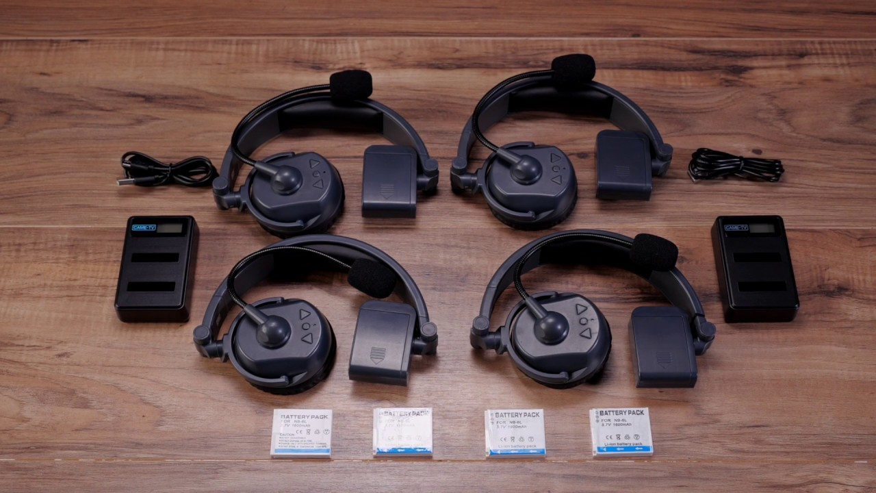 79ac0ddb7c5 CAME-TV WAERO Duplex Digital Wireless Headset Review - Newsshooter