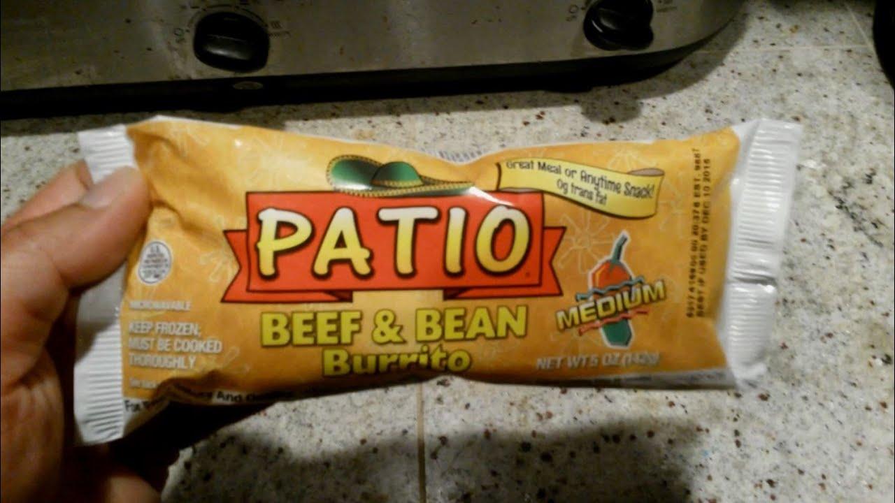 Awesome Walmart Patio Beef U0026 Bean Burrito Review