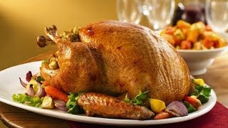 How To Cook A Turkey - How To Roast A Turkey - Best Thanksgiving Roast Turkey Recipe