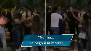 Usuarios de redes exigieron que se ubique y castigue al agresor tras su violenta reacción contra una joven en un bar de Chiapas