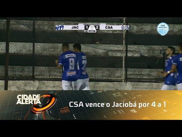 Futebol: CSA vence o Jaciobá por 4 a 1