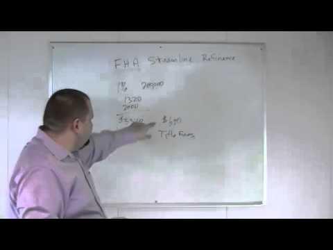 FHA Streamline Refinance Overview
