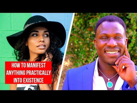 How to Practically Manifest Anything Into Existence (Law of Attraction!) Powerful!