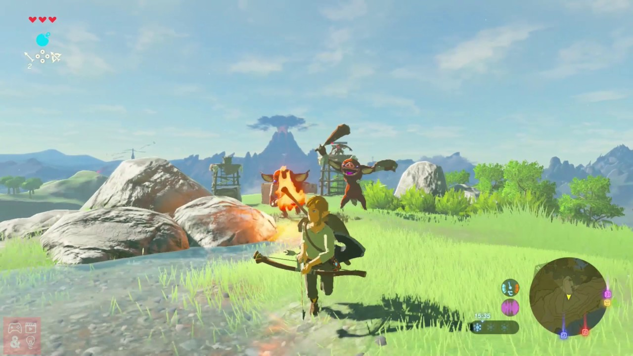 The Legend of Zelda Breath of the Wild Game (Nintendo ...
