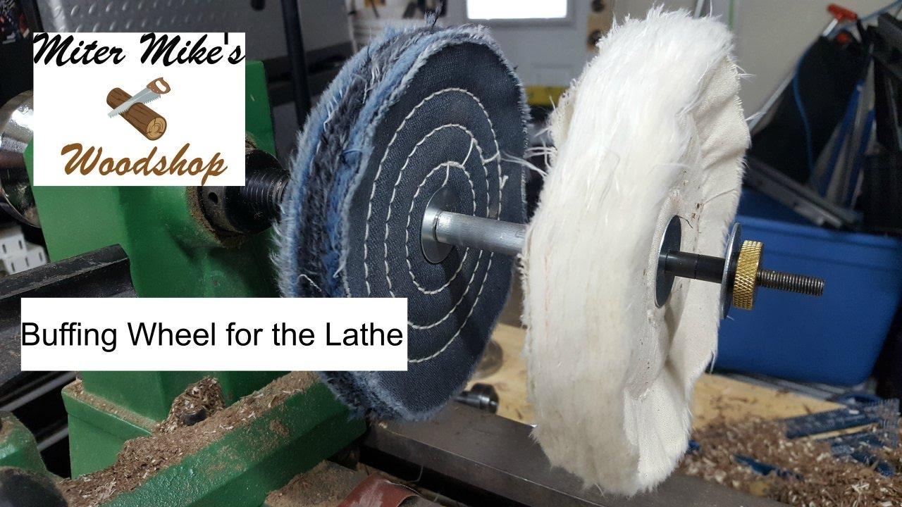 Buffing Wheel For Polishing Pens Youtube