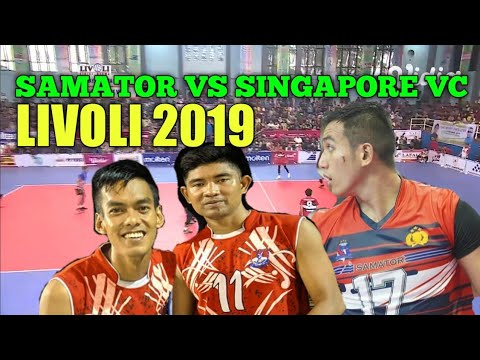 Samator vs singapore vc Highlight |#Livoli2019