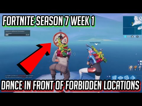 """Dance In Front Of Forbidden Locations"" ALL 7 LOCATIONS 