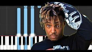 Juice Wrld - Empty (Piano Tutorial)