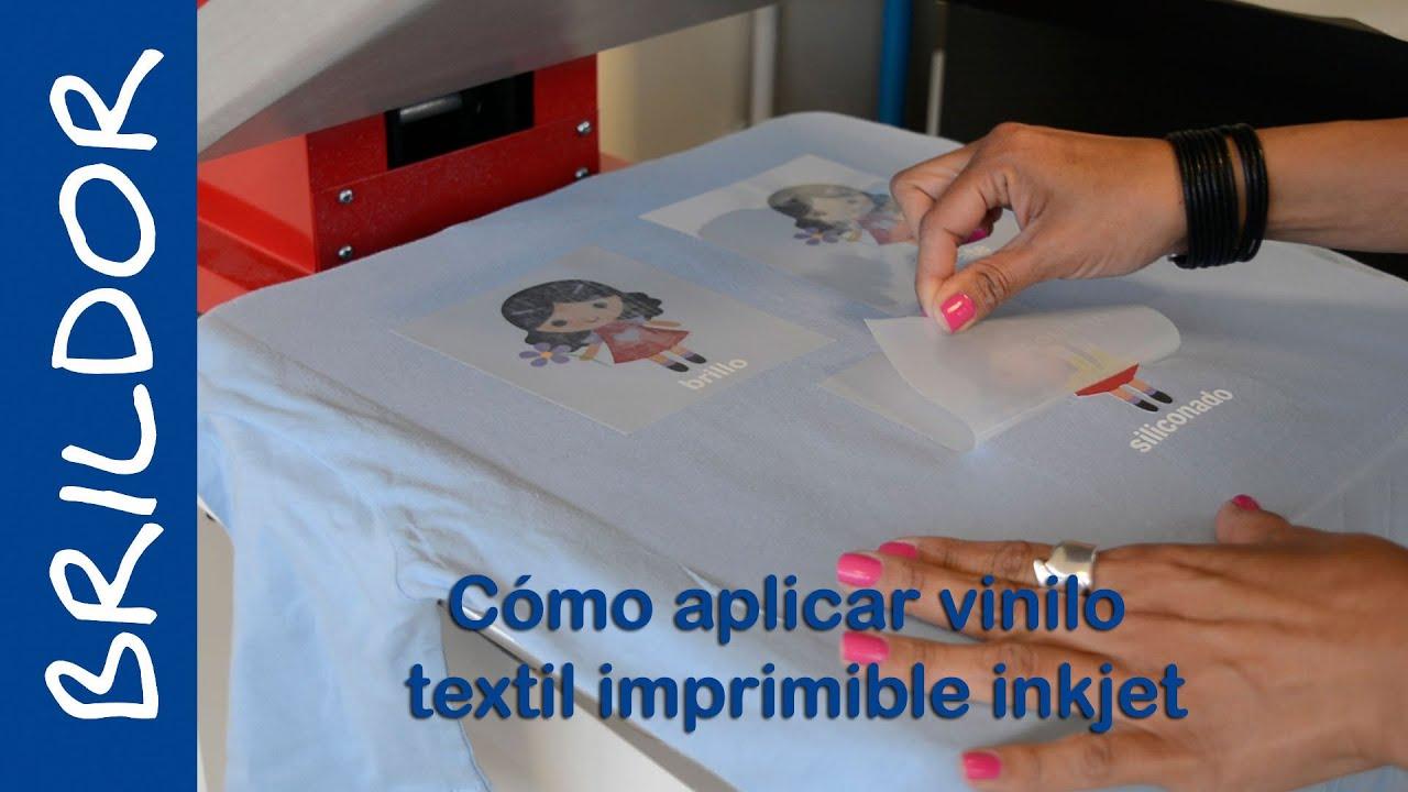 C 243 Mo Aplicar Vinilo Textil Imprimible En Impresora Inkjet