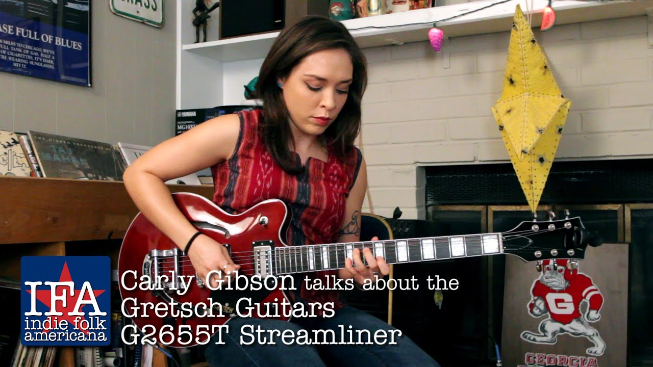 carly gibson talks about the gretsch guitars st with loop