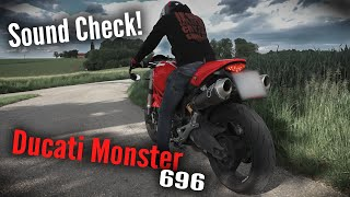 Ducati Monster 696   Sound Che…