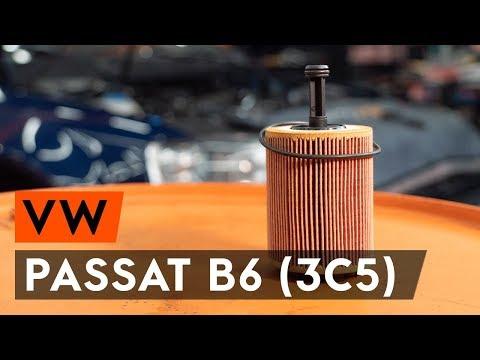Как заменить моторное масло и масляный фильтр на VW PASSAT B6 (3C5) [ВИДЕОУРОК AUTODOC]