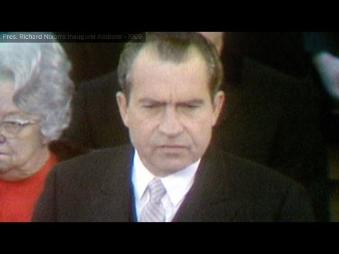 Richard Nixon inaugural address: Jan. 20, 1969