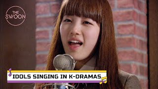 Ultimate playlist of K-pop idols singing in K-dramas [ENG SUB]