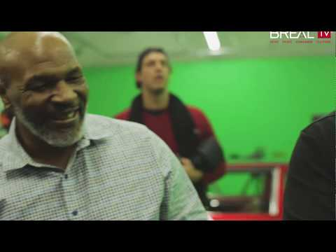 Smoking A 3 Oz. Joint With Mike Tyson | BREALTV