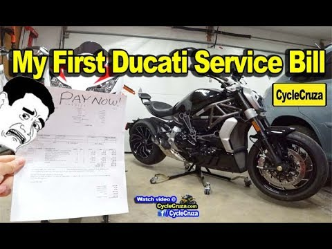 Got My First Ducati Bill How Much It Really Costs To Own A Ducati