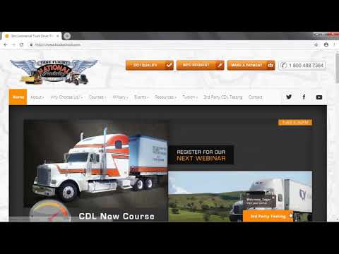 3rd Party CDL Testing | National Truck Driving Orange Park FL