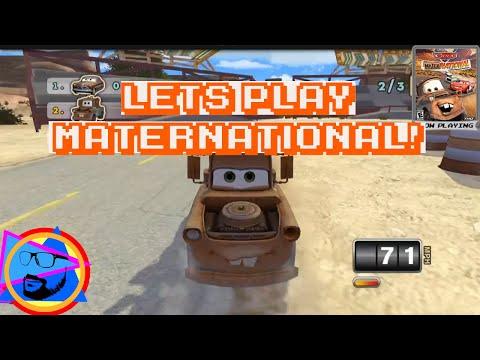 Disney Cars Mater-National GamePlay! |