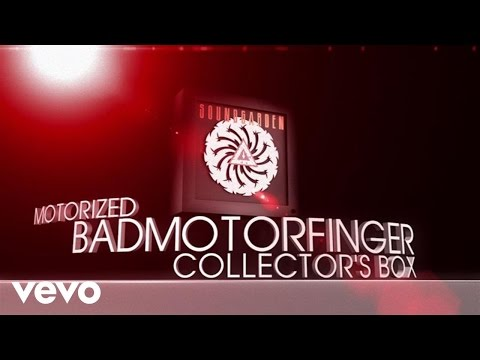 Soundgarden - Badmotorfinger Collector's Box