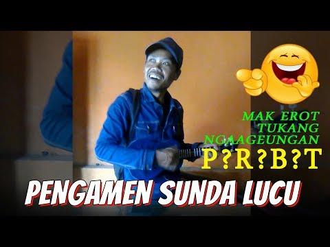 Lucu !!! Pengamen Sunda Kreatif Dengan Lirik Lagu Bikin Ngakakk, Wkwkwk ..