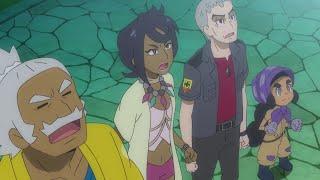 An All-Out Island Kahuna Attack | Pokémon the Series: Sun & Moon—Ultra Legends | Official Clip