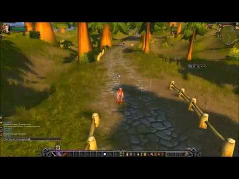 Cross continent run with a level 1 - Timelapse - World of Warcraft