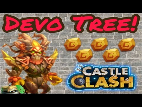Castle Clash: Double Evolving Treantaur!