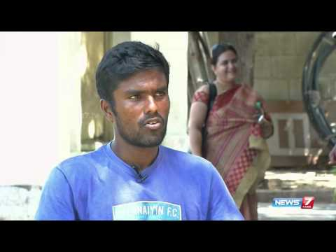 Tennis player Vijay Sundhar Prashanth in Maatrathai theadi   News7 Tamil
