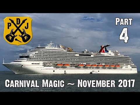 Carnival Magic Cruise Vlog November 2017 - Part 4: Belize - Altun Ha & River Wallace - ParoDeeJay