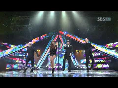 Electroboyz&Hyorin - Ma Boy 2 (효린&일렉트로보이즈) @SBS Inkigayo 인기가요 20111225