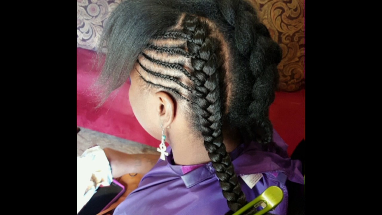 Latest Hair Styles Of Braids: How To Do The Cardi B Inspired Goddess Braids